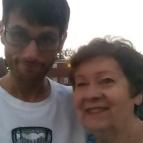 On July 5, 2016, I bumped into Carol Hunsinger at McSummerfest in McDonald, PA.